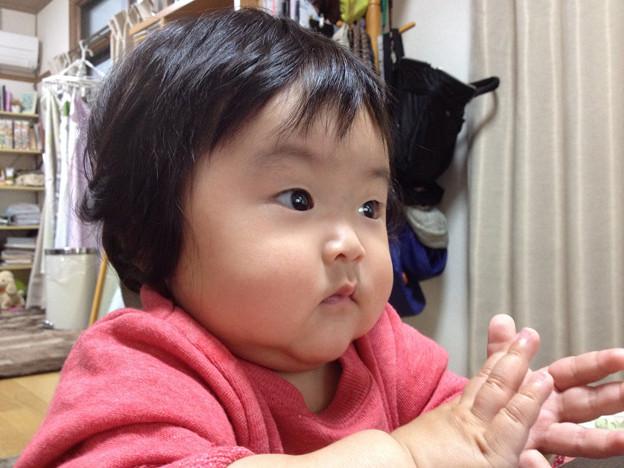 愛娘 9ヶ月 iPhone4s撮影