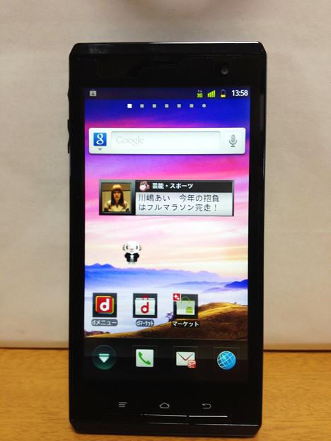 REGZA Phone T-01D TPU CASE / iPhone4s 撮影