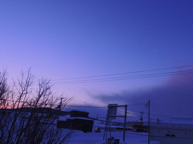 Photos: 氷点下16℃の夜明け