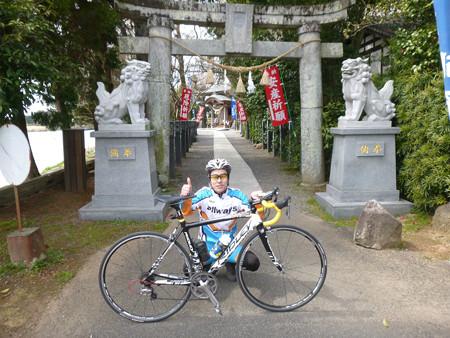 浮島神社前