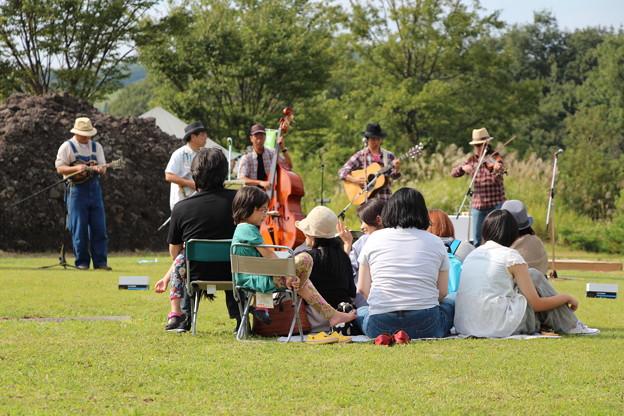 高原の音楽祭にて