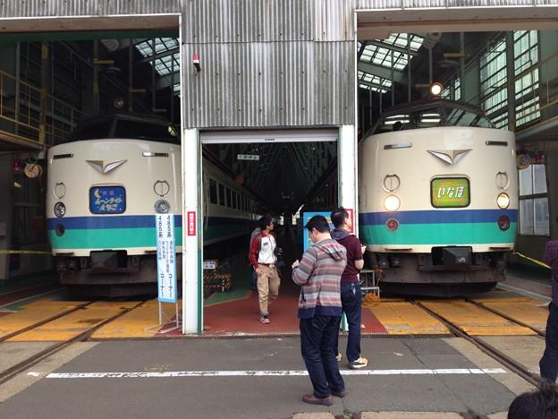 秋田総合車両センター一般公開より485系その1