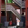 写真: A Woman under the Stairs
