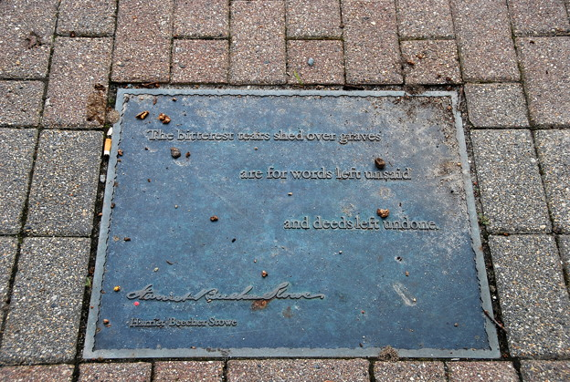 Harriet Beecher Stowe Once Said... 9-6-12