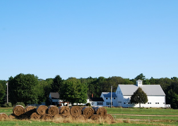 The Bales and the Farmhouse 8-25-13