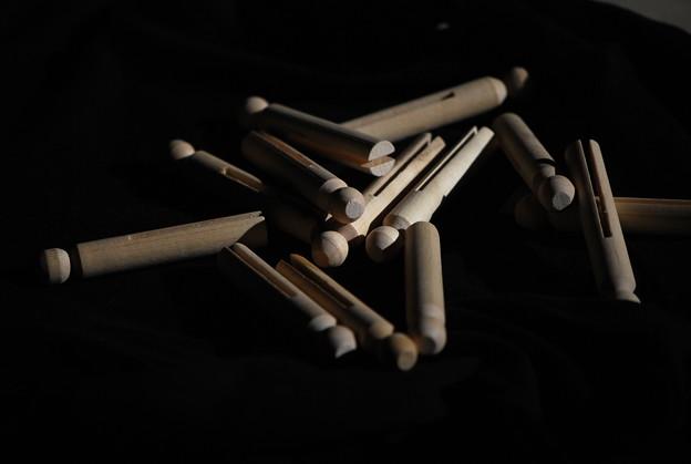 「第75回モノコン」Clothespins 11-30-13