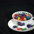 写真: Clothespins in a Teacup 11-30-13