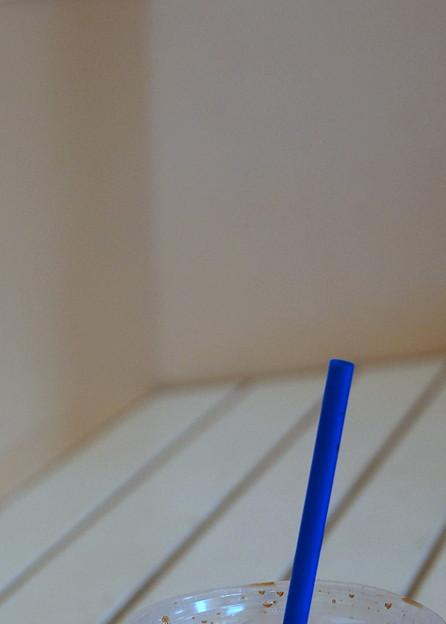 Blue Straw