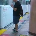 写真: 武道館へ行く途中でぉっょぃ...