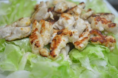 鶏ささみのチリマヨ