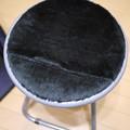 写真: 丸椅子