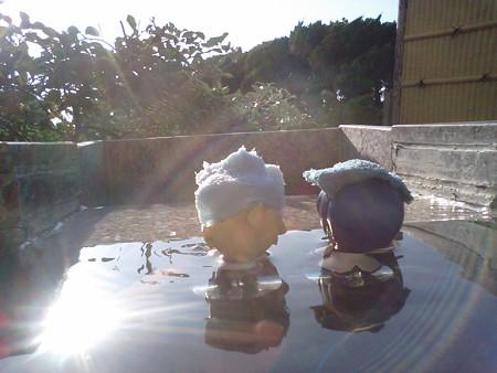 兄:「露天風呂っしゃーーーー!!」 レン:「マジええきんもづ(≧▽...