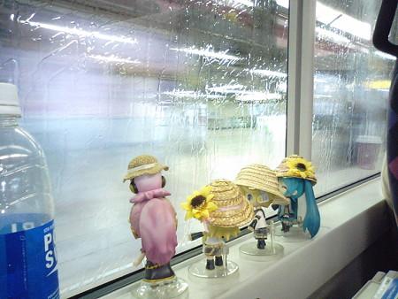 錦糸町→新宿間、秋葉原駅を通過中。 レン:「秋葉原駅を特急で颯爽...