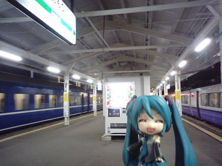 青森駅に、4分遅れで到着♪
