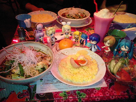 【ポーク角煮・虚空】 トッピング: むし麺だばぁ、モモ、味ごっち ...
