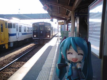 延岡行き電車もまたまた、817系2両ワンマンです。 ■南宮崎 14:41 → 南...