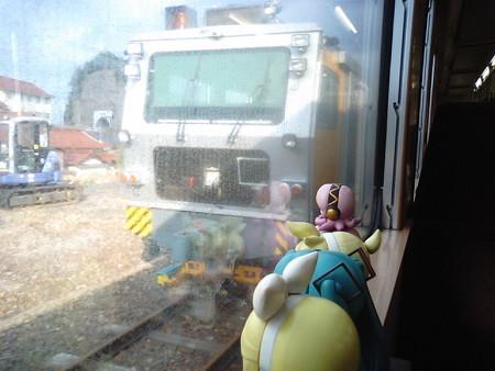 五十猛(いそたけ)駅に停車。 リン:「まるちぷるたいたんぱー!!...