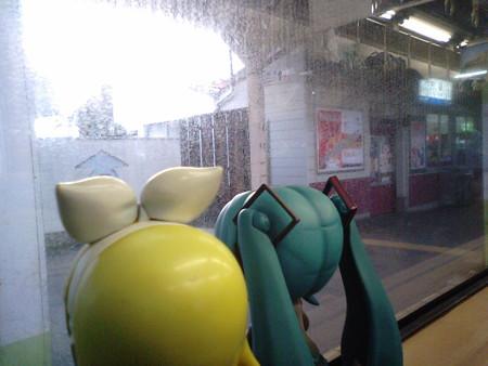 宍道駅に停車。木次線がここから分岐します。 リン:「シンジ君のふ...