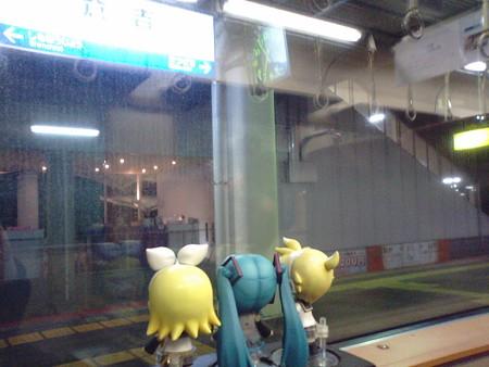 倉吉駅に停車。