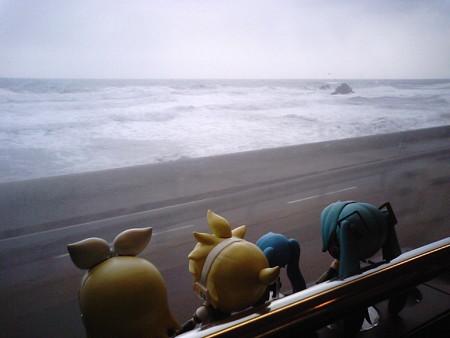 桑川→勝木間、今川付近。 リン:「ささがわながれーーー!!」 ミク...