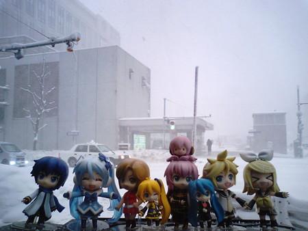 それでは札幌より、最北端への旅を再開します……って何だこの猛吹雪...