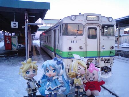 雪ミク:「それでは今日のラストラン、函館まで1本で行きます!」 ま...
