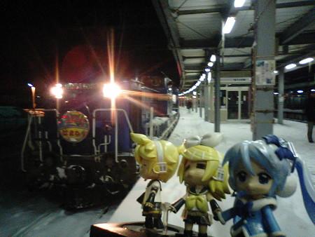 それでは、帰路フェーズ再開します。急行「はまなす」は、函館駅を定...