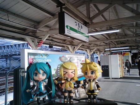 ミク:「おはようございます! ただいま、京浜東北線の鶴見駅にいま...