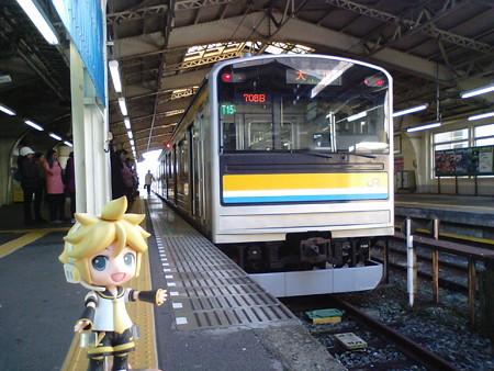 レン:「まずは、大川駅に行くんだね」 ■鶴見  7:55 → 大川  8:08 ...