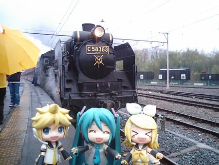それではいよいよ、SLパレオエクスプレスで長瀞駅まで乗ります! ...