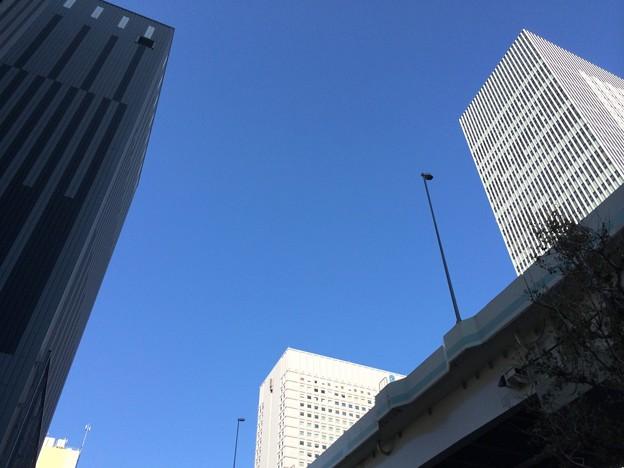131116 横浜駅東口付近の空