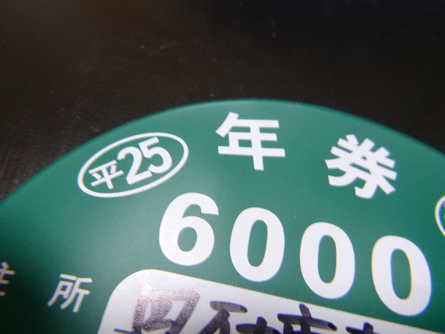 Photos: 25年度 四万十川遊漁券