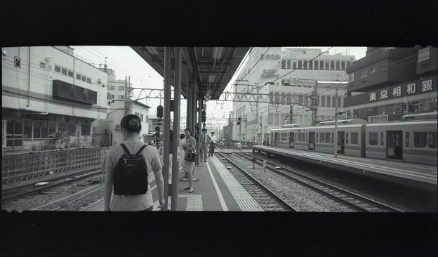 1993年の経堂駅