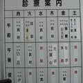 Photos: 診察体制