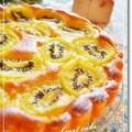 キウイのヨーグルトケーキ