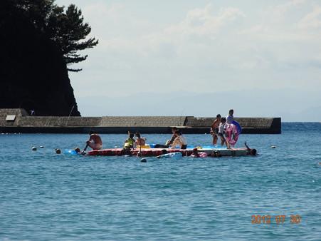 2012年南伊豆の岩地海岸へ