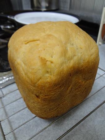 初めて焼いたパン