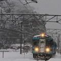 Photos: 列車が来た!