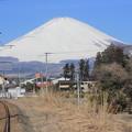 Photos: 車窓からの富士