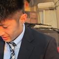Photos: バスの中から出てきてわざわざサインしてたトヨ
