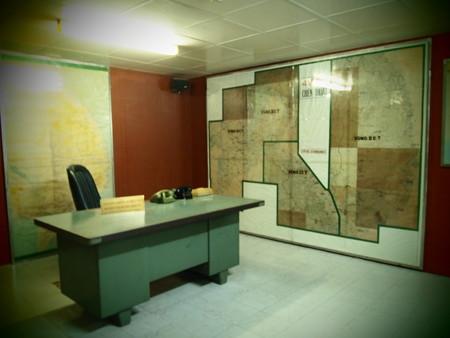 南ベトナム共和国大統領の司令室