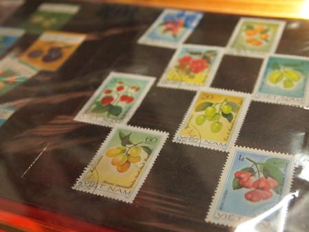 フルーツの切手