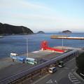 Photos: 目の前が里港
