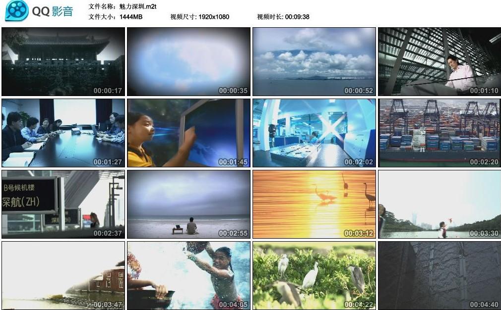 中国实拍视频素材-魅力深圳