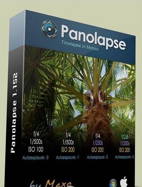 延时拍摄滑轨效果软件Panolapse 1.152 (Win/Mac) XFORCE破解注册版