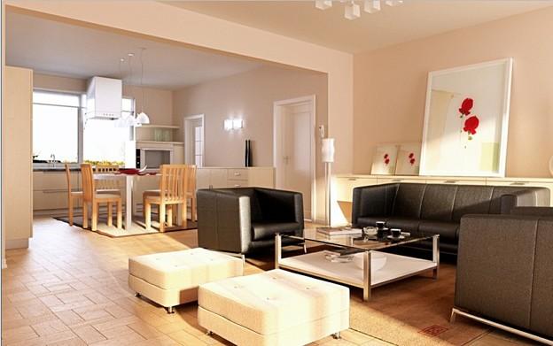一个客厅视频教程(包含max ps教程、模型、材质、灯光)