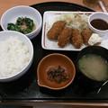 Photos: カキフライ和膳