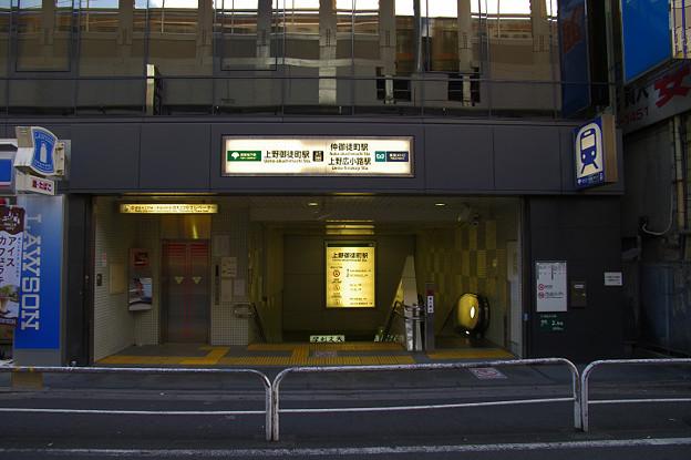 s3393_上野御徒町駅_東京都台東区_都営地下鉄