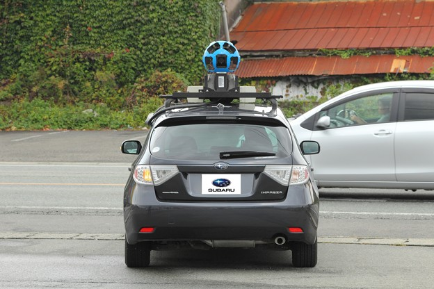 Googleストリートビュー撮影車.10