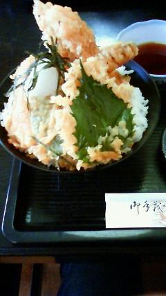 「割烹料理井谷」穴子天丼